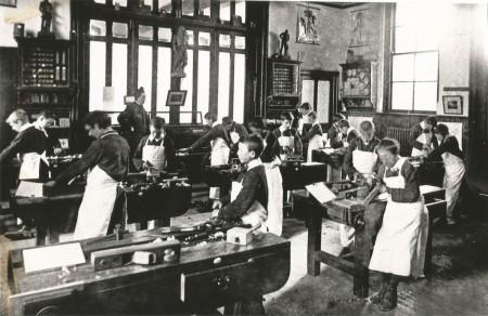 1920 Woodwork Class