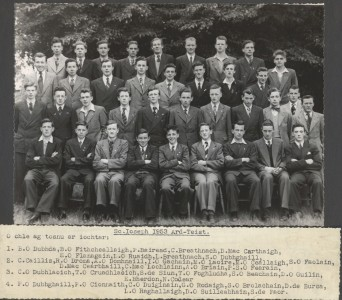 Leaving Cert Class of 1953