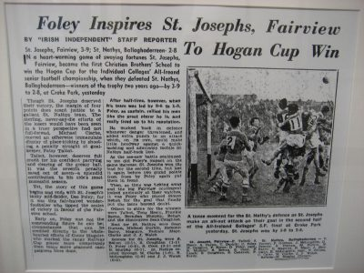 Hogan Cup Article