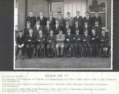 Class photograph 1965 A