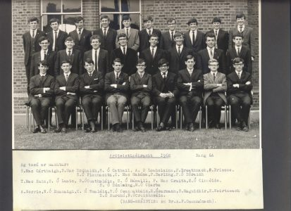 Leaving Cert Class of 1968 6A