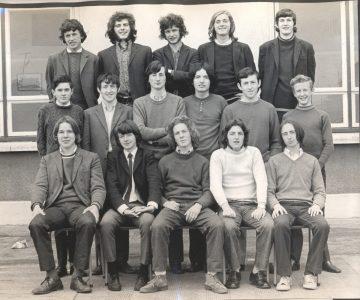 Leaving Cert Class of 1971 6D