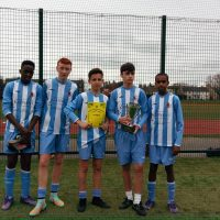 Joey's Boys Win Five Aside League Cup