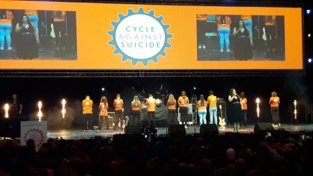 Cycle Against Suicide Student Leader Congress