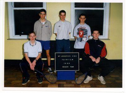 1998 Squash Team