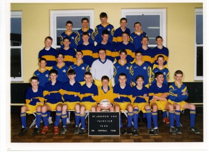1998 Under 16 Football Team