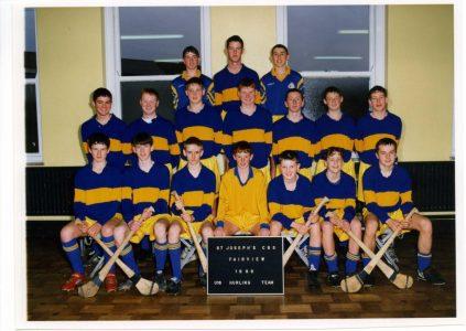 1998 Under 16 Hurling Team