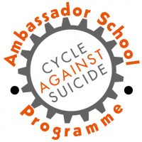 An official Cycle Against Suicide Ambassador School!