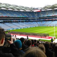 Fifth Years attend Tricolour Ceremony in Croke Park