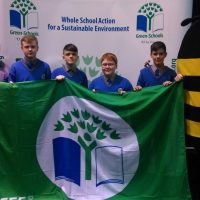 Green Flag for Travel awarded to School