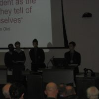 Fifth Year Students address Climate Conference