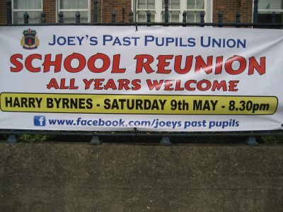 School Reunion Banner, 2015