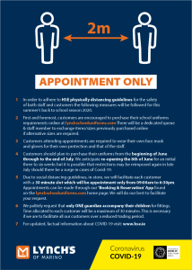 Lynch's School Uniform Guidelines