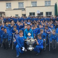 Sam Maguire visits Joeys