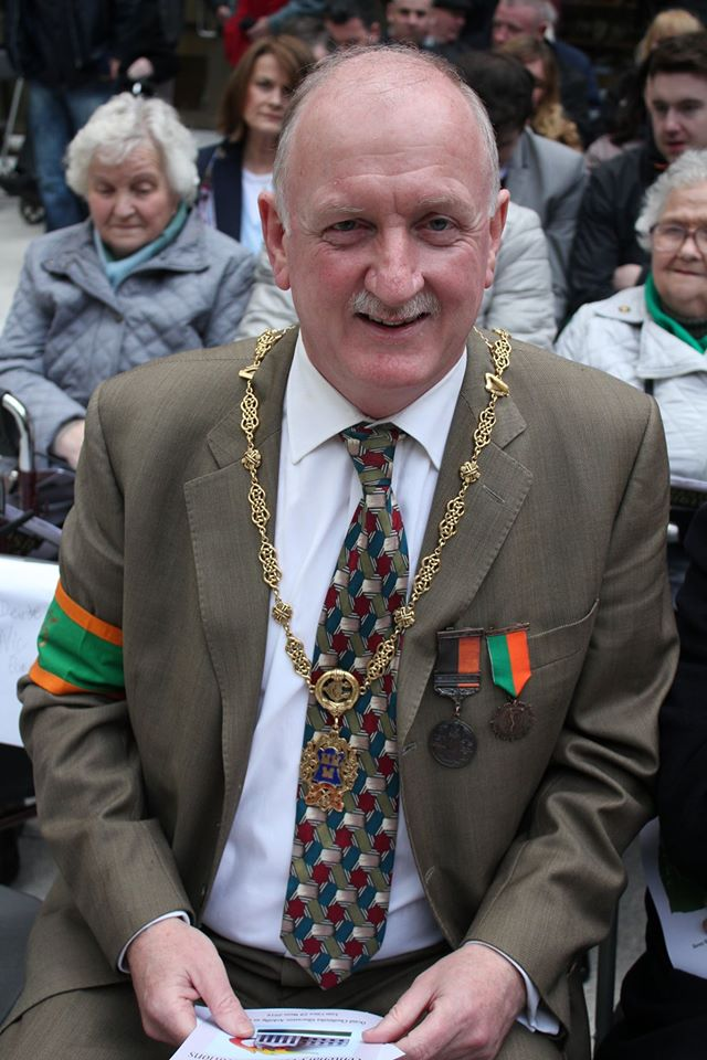 Resurrection Joe Brennan Creates An Inspired Home In A: GPO Garrison Centenary Commemoration