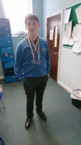 Seán Britland 2nd Year Interview –  Karate Medalist
