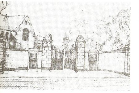 A sketch of the school