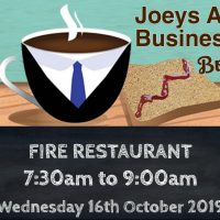 St. Josephs CBS Fairview first Business Networking Breakfast – Fire Restaurant, Wed, 16th Oct 2019