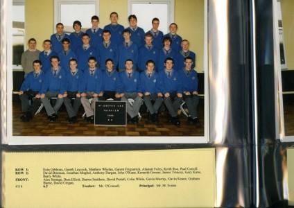1998 Leaving Cert Class B